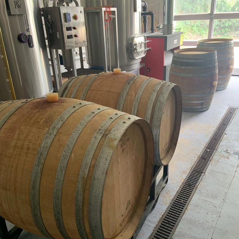 Odd Bird Brewery Barrels Stockton New Jersey