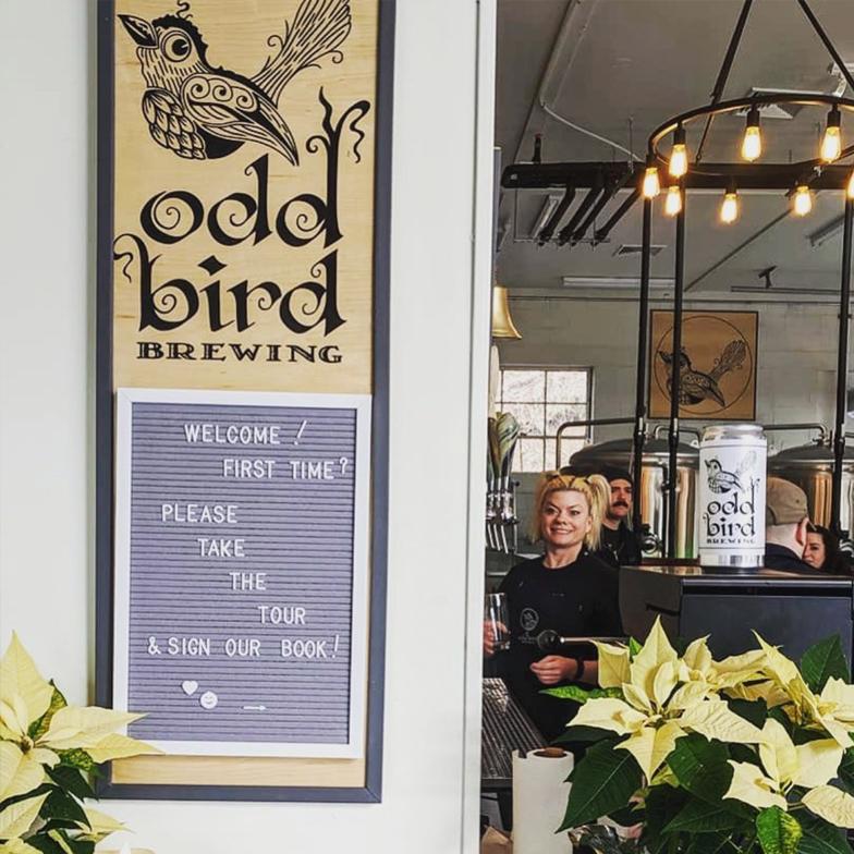 Odd Bird Brewery Interior Stockton New Jersey